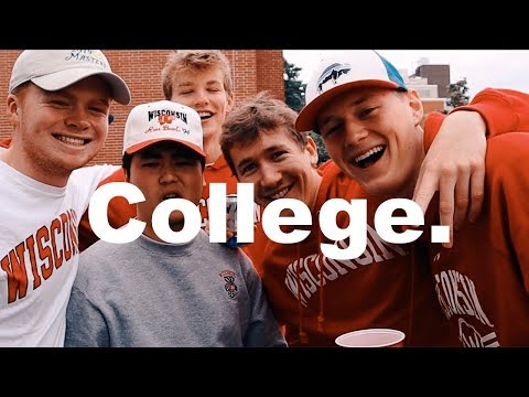 WHAT A COLLEGE TAILGATE IS LIKE - University Of Wisconsin Madison