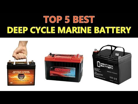 Best Deep Cycle Marine Battery 2019 - YouTube