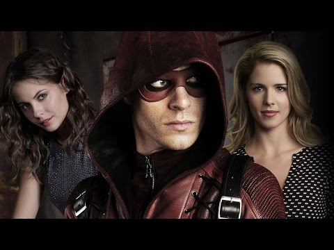 Arrow: Colton Haynes, Emily Bett Rickards, Willa Holland Season 3   Comic Con 2014