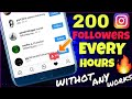 200 Instagram Real Followers EverY Hour Without Any Works mp3