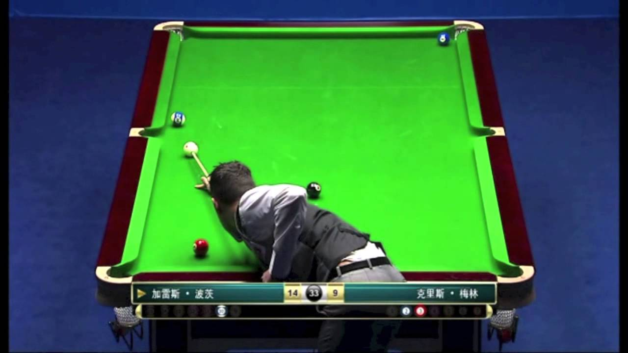 Chinese Ball Masters Final Potts Vs Melling Part YouTube - Chinese pool table