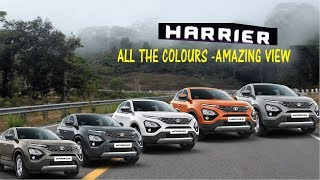 Amazing View of 'Tata Harrier' - All Colours | India's New Benchmark of SUV