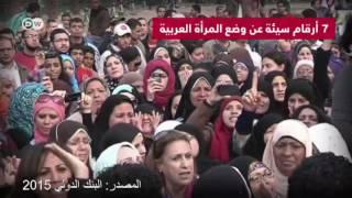 سبعة أرقام سيئة عن وضع المرأة في العالم العربي