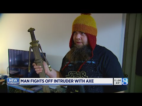 Lynch and Taco - Man Fights Off Home Intruder By Using Battle Axe