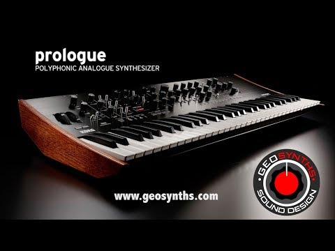 Korg Prologue - Custom Patches 1 to 25 - GEOSynths.com