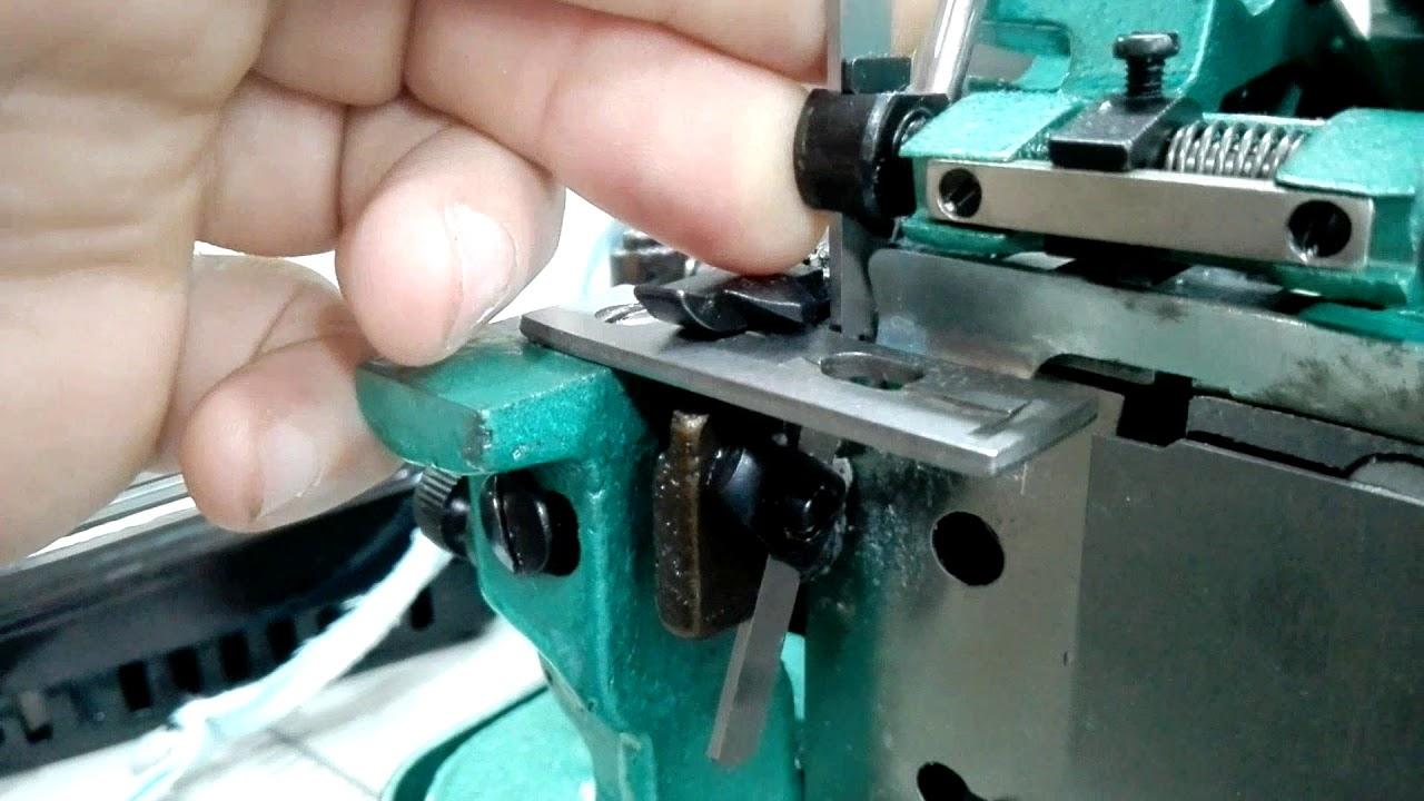 Reemplazo De Cuchilas Overlock Semi Industrial En Maquineria Beiro By Maquineriabeiro