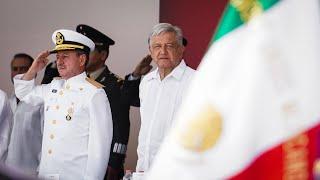 105 Aniversario de la Defensa Patriótica del Puerto de Veracruz, desde Alvarado, Veracruz.