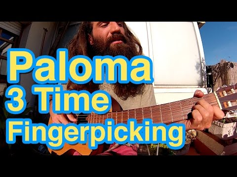 Gato Suave - Patreon Guitar Lessons - Paloma Fingerpicking in 3 Time