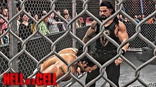 WWE 2K17 HELL IN A CELL 2016 - Roman Reigns vs Rusev Hell in a Cell Match
