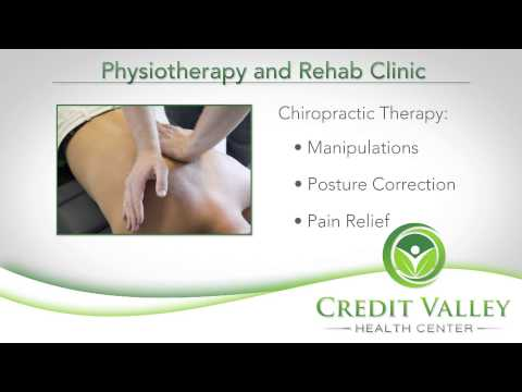 Credit Valley Health Centre - Physiotherapy & Rehab Clinic - Mississauga - 3-0425
