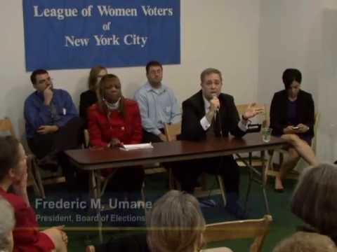 Meet the Commissioners of the NYC Board of Elections: Program Two