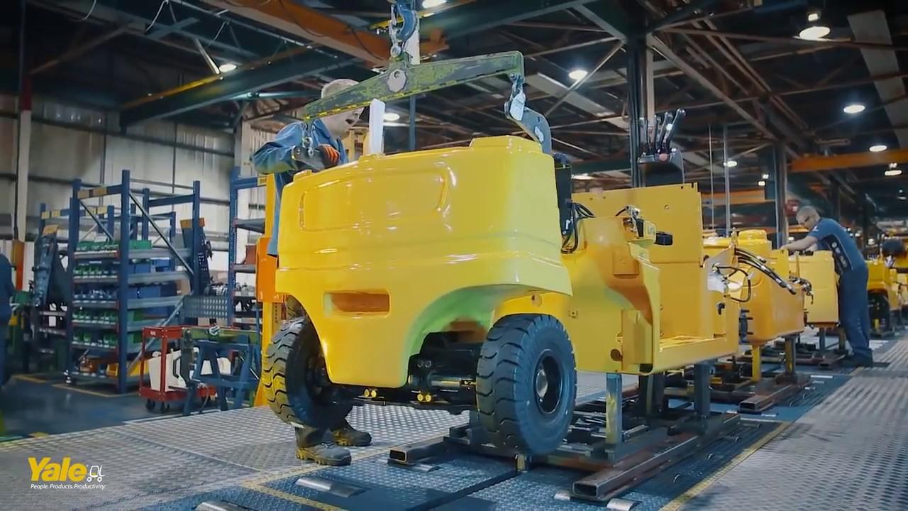Yale | Hyster-Yale Materials Handling Inc  | Master Lift | Oakville  Mississauga Forklift Rental