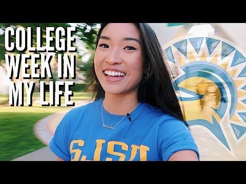 COLLEGE WEEK IN MY LIFE | San Jose State University