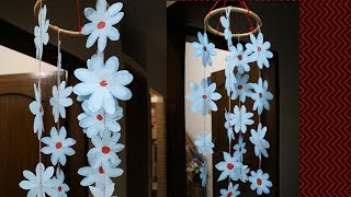 Diy   Wall Hanging Home Decoration Idea || How To Make Wall Hanging With Paper