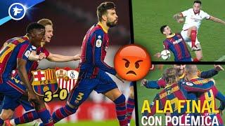 La remontada du FC Barcelone contre Séville fait polémique en Espagne | Revue de presse