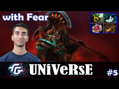 Universe - Centaur Warrunner Offlane | with Fear (Weaver) | Dota 2 Pro MMR Gameplay #5