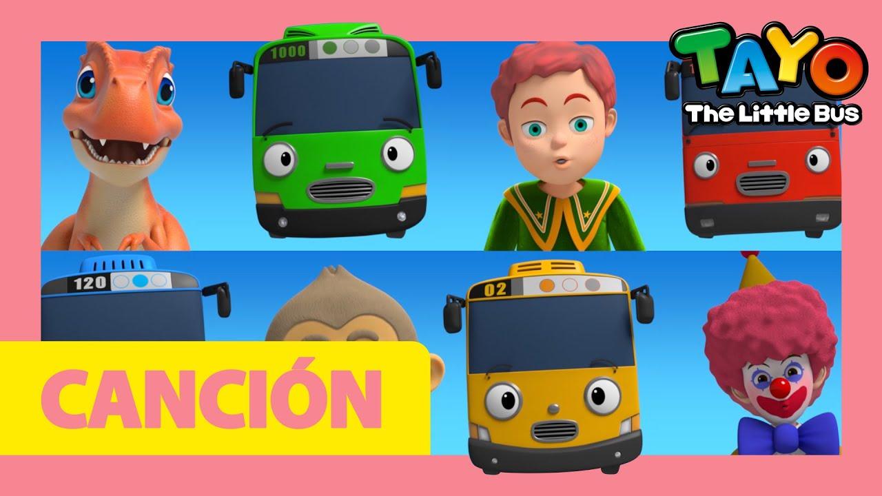 Tayo Canción l Tayo Español La apertura l Juega Safe Song con coches de bebé