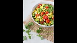 Corn & Edamame Salad