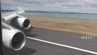 Qantas Airways | Boeing 747-400 | Take-Off from Auckland International