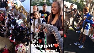 #BBW: Shaunie O'neal Daughter Mimi's Birthday Party & Lebron Jr. Is Snaked Out!🐍