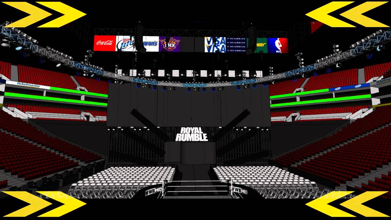 wwe royal rumble 2014 stage concept 1 youtube
