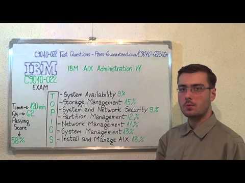 C9010-022 – IBM Exam AIX Test Administration V1 Questions