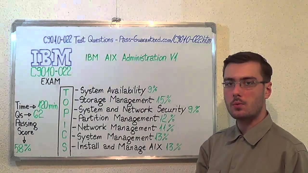C9010022  IBM Exam AIX Test Administration V1 Questions  YouTube