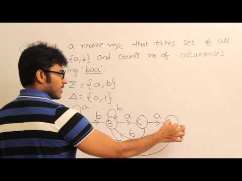 Theory Of Computation 48,Examples of Moore machine