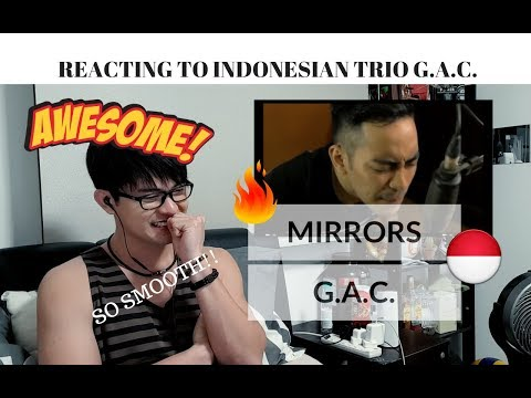 [REAKSI] SO SMOOTH! G.A.C. - MIRRORS | First Time Reaction