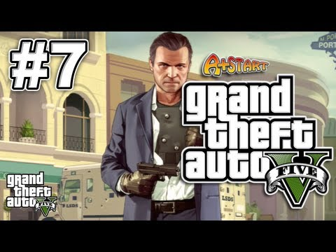 Grand Theft Auto 5 (GTA V): Casing The Jewel Store/The Long Stretch - Part 7 - A+Start