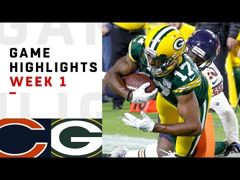 Bears vs. Packers Week 1 Highlights | NFL 2018