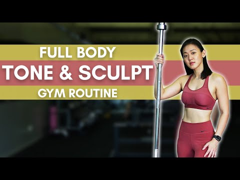 Full Body TONE & SCULPT Gym Routine (Supersets) | Joanna Soh