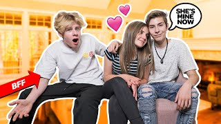 Telling My Best Friends CRUSH I Love Her PRANK To Get His REACTION **He Got MAD**😡🤣| Sawyer Sharbino