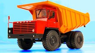 BELAZ 7510 с масштабом 1/43 от Наш Автопром. Распаковка и обзор