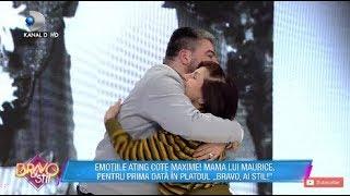 Bravo Ai Stil 03.01.2019   Emotii Maxime Pentru Maurice Mama Lui In Platou La Bravo