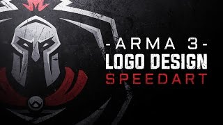 Arma 3 Team Gaming Logo Design