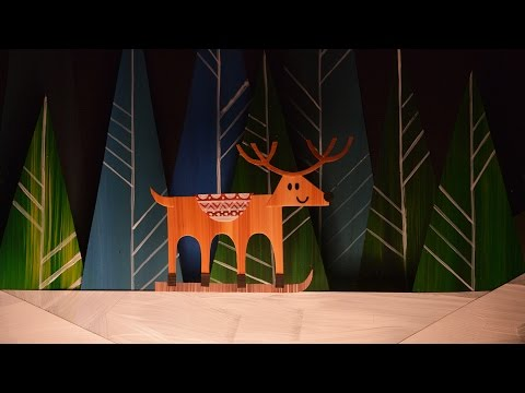 Reindeer Sweater (Paper Cut Out Animation)