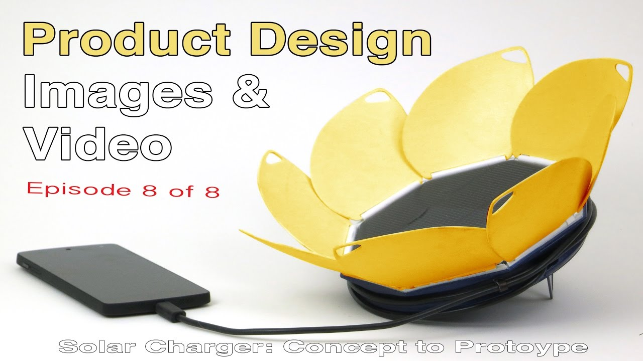 Studio Photo & Video Photography​ for Product Design: Mobile Solar Charger power bank Part 8
