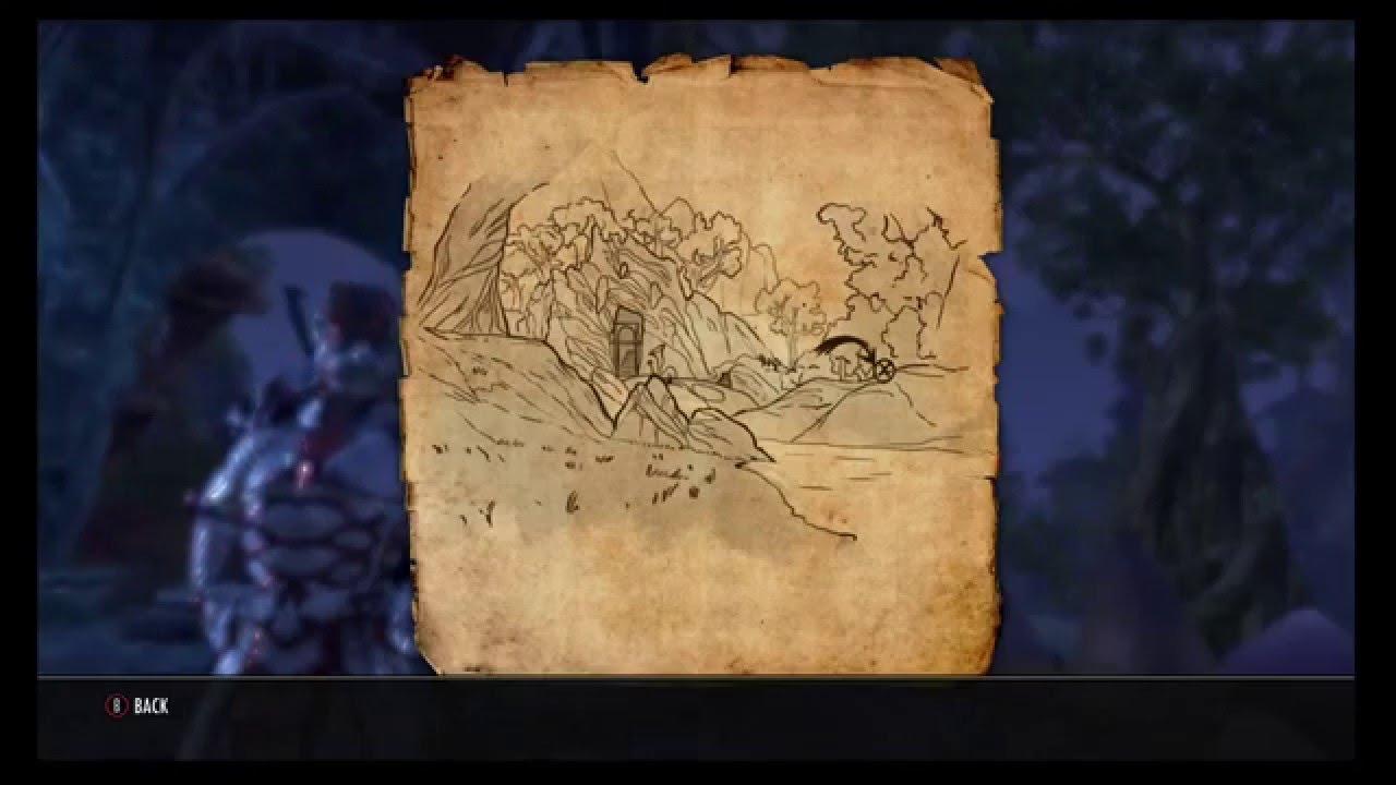 Deshaan Treasure Map Iv on