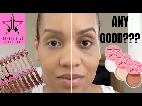 JEFFREE STAR MAGIC STAR Concealer and Setting Powder | C16 | Topaz or Banana??? | First Impression thumbnail
