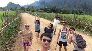 Laos Vangvieng  Vientiane Trip
