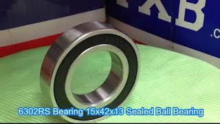 6302RS Bearing 15x42x13 Sealed Ball Bearing