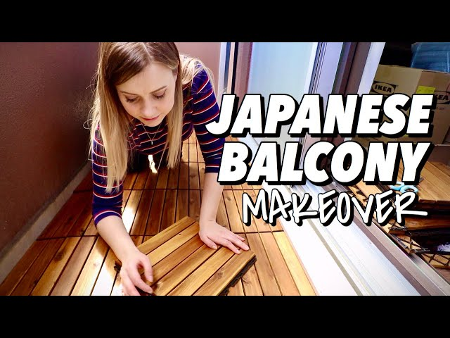 My Tiny Japanese Balcony Makeover 🌱 #stayhome + DIY #withme
