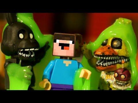 Пять Ночей с Фредди и Лего НУБик Майнкрафт - Анимация