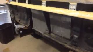 1965 Ford F100 radiator support installation