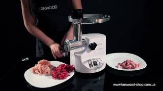 Мясорубка Kenwood MG 476 - видео обзор