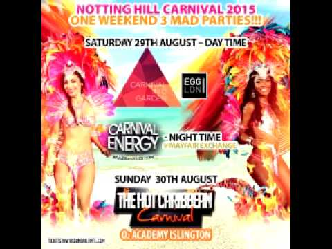 The Hot Caribbean Carnival Mix 2015  Dancehall Soca