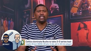 Jalen: Bledsoe knows Rozier because he's been looking at back of his jersey   Jalen & Jacoby   ESPN