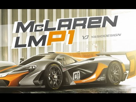 Making an LMP1 McLaren from a P1 GTR – With Yasid Design