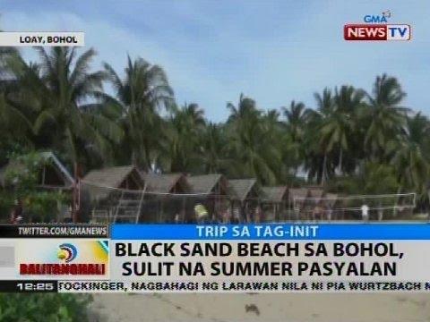 BT: Black sand beach sa Bohol, sulit na summer pasyalan